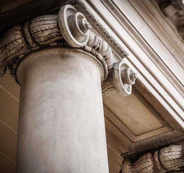 Dahl Fischer Wilks Attorney Colorado fancy stone column