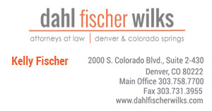 Click here for Kelly Fischer's contact information